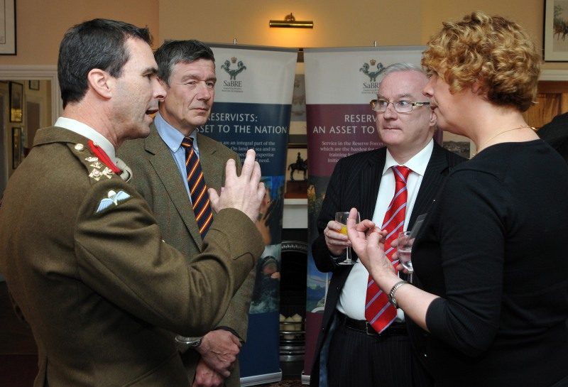 Supporting the Reserve forces - caption competition